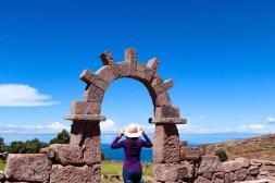 Ssteintor auf Taquile