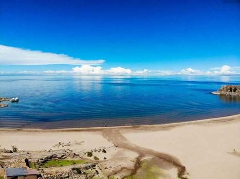 Strand auf Taquile