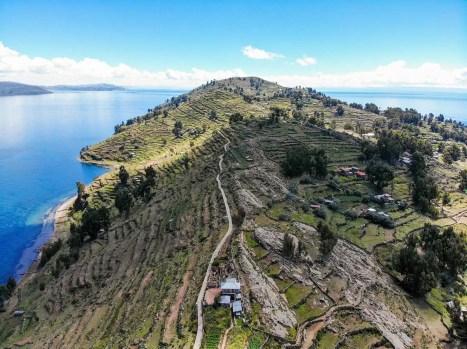 Taquile Insel mit Prä-Inka Terrassen