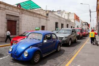VW Käfer in Arequipa