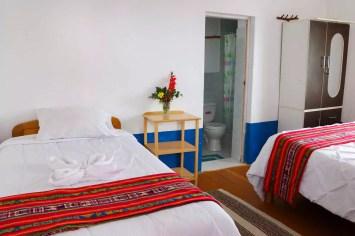 Unser Zimmer im Homestay auf Amantani