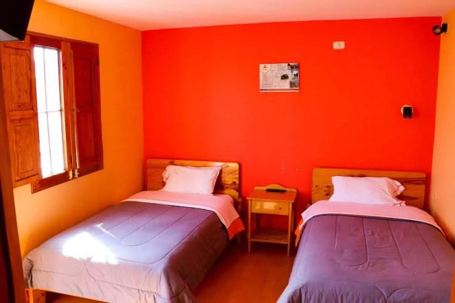 Unser Zimmer im Le Foyer Hostel in Aequipa