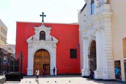 Basilika und Kloster Santo Domingo in Lima
