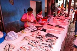 Fischverkauf Belen Markt