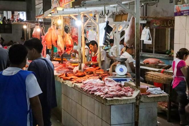 Fleischmarkt Iquitos