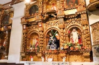 Kircheninnere Maca Peru