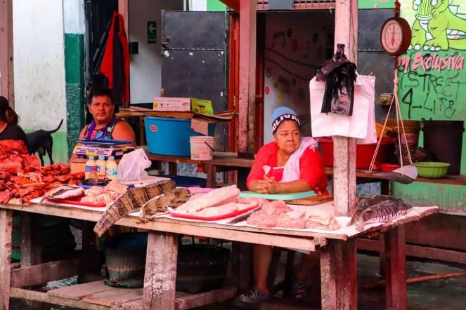 Kaiman Fleisch Belén Iquitos