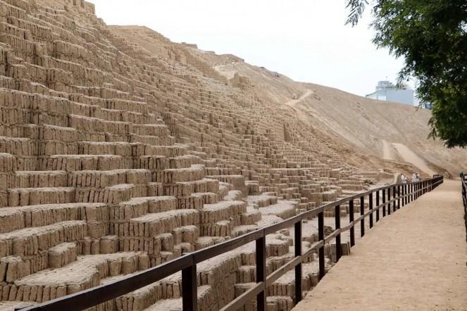 Huaca Pucllana - Ruinen der vorinkaischen Pyramide