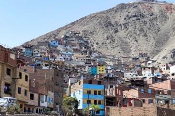 Armenviertel Villa de Fátima in Lima