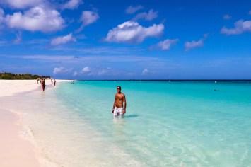 Karibik Strand Aruba - Eagle Beach