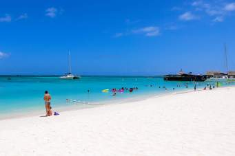 Aruba Strand Palm Beach