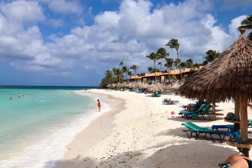 Druif Beach auf Aruba