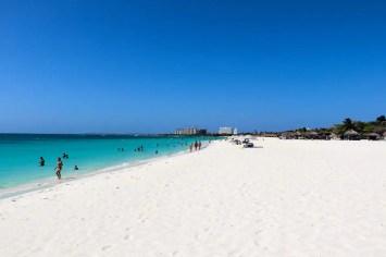 Karibik Strand Eagle Beach Aruba