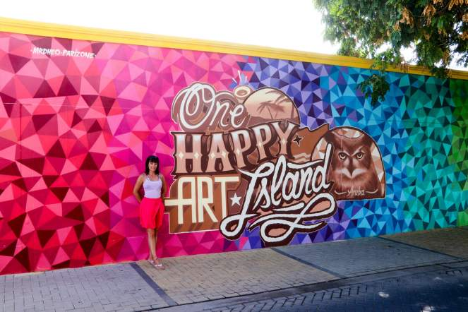 One Happy Art Island Aruba