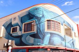 """The Boss"" von WD Street-Art in San Nicolas"