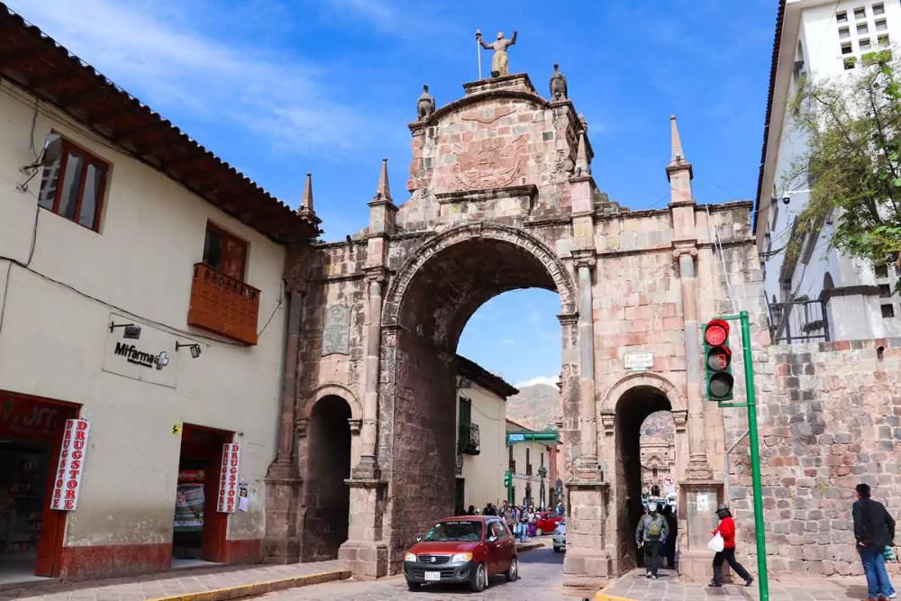 Arco de Santa Clara Cusco