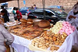 Backwaren auf dem San Pedro Markt