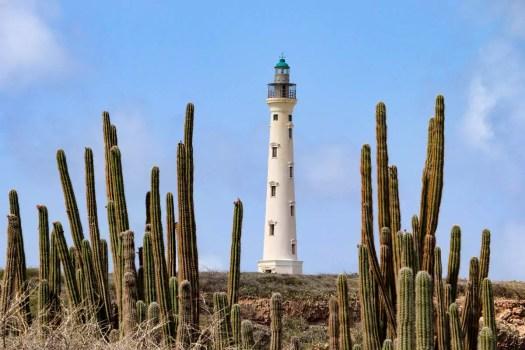 Blick auf California Lighthouse vom Arashi Beach