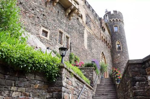 Mittelalterliche Burg Rheinstein