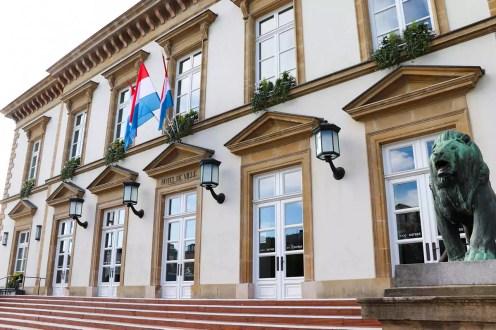 Hôtel de Ville (Rathaus) in Luxemburg