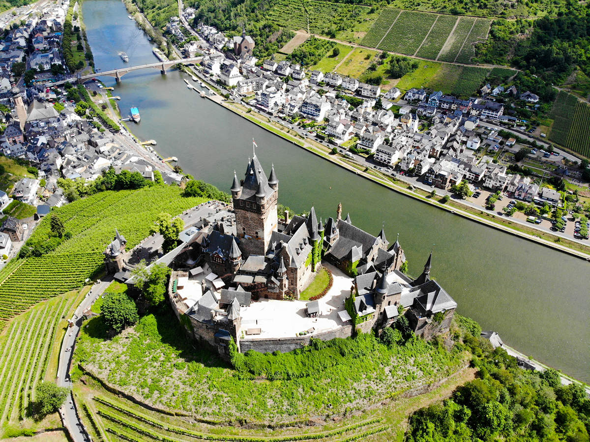 Burgen Rheinland-Pfalz: Burg Cohem