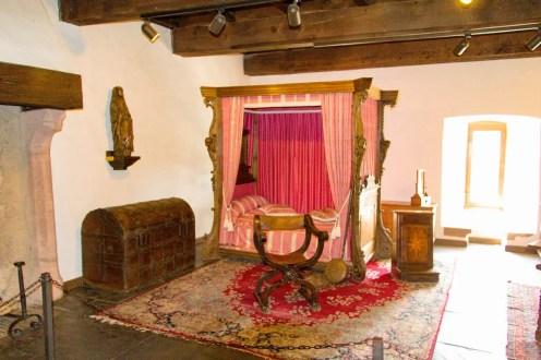 Schlafzimmer Burg Vianden