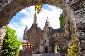 Übergangszimmer und Burgmannshaus Reichsburg Cochem