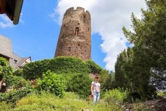 Wachturm Burg Thurant