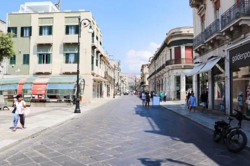 Corso Garibaldi in Reggio Calabria