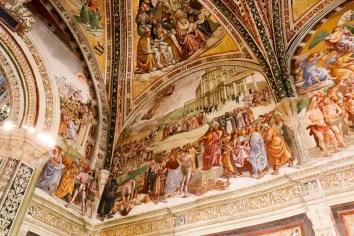 Fresken in der Capella di San Brizio