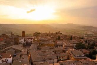 Sonnenuntergang Torre del Moro