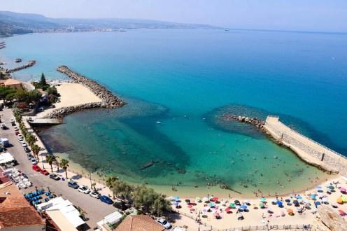 Strand Pizzo Kalabrien