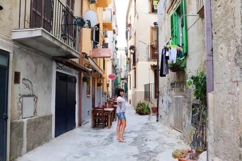 In der Altstadt von Tropea