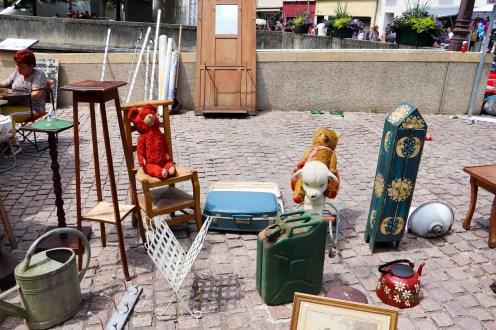 Sierck-les-Bains Flohmarkt