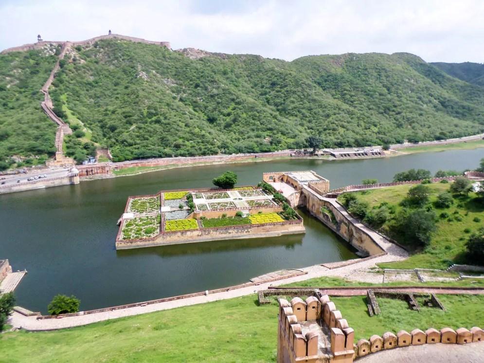 Gärten von Dilaram Amber Fort
