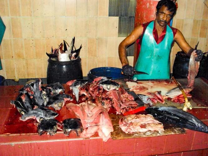 Fischmarkt Male