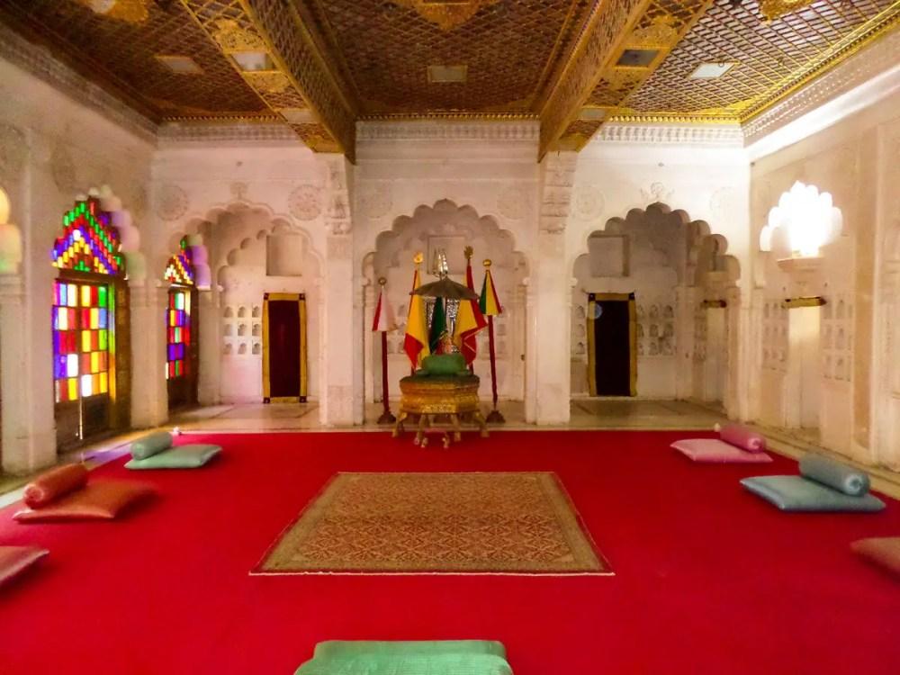 Moti Mahal Mehrangarh Fort
