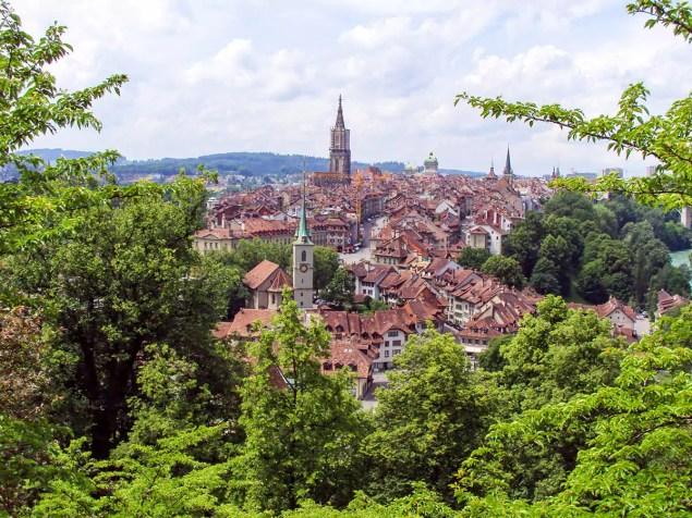 Altstadt mit dem Berner Münster im Hintergrund