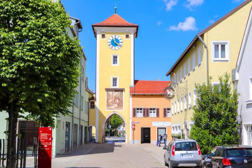 Mittertor in Kelheim