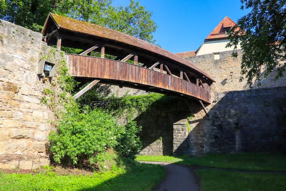 Gedeckte Brücke Rothenburg ob der Tauber