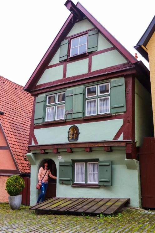 Kleines Giebelhaus Dinkelsbühl