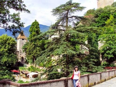 Passeirertor der Meraner Stadtmauer
