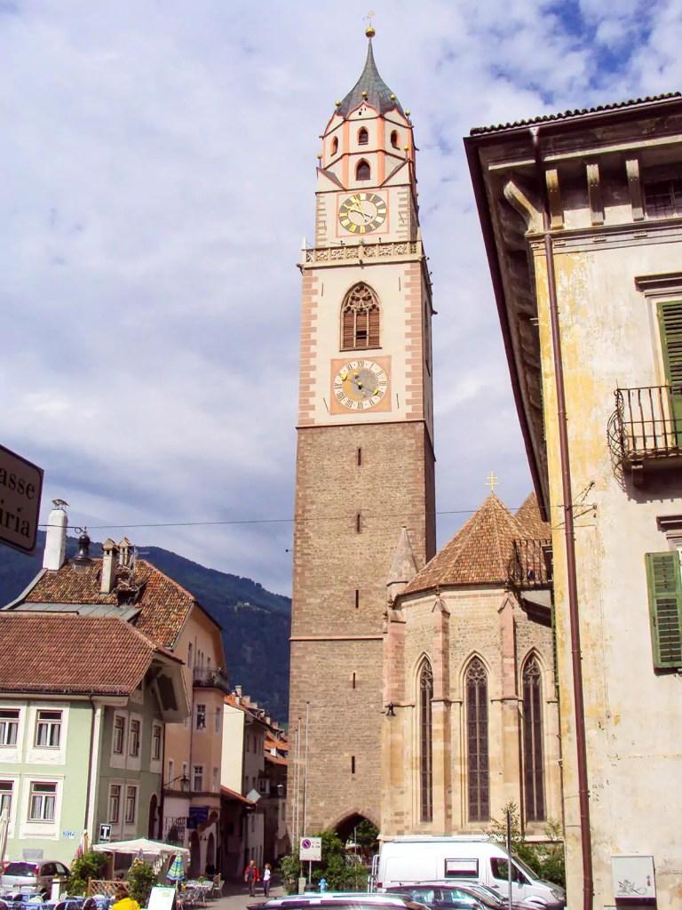 Sankt Nikolaus Stadtpfarrkirche in Meran