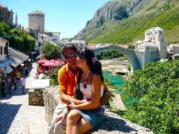 Stari Most Bogenbrücke Mostar