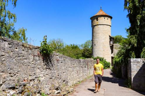 Strafturm Rothenburg o. d. Tauber