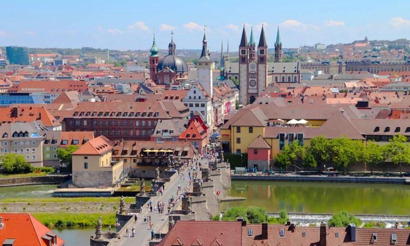 Franken Städte