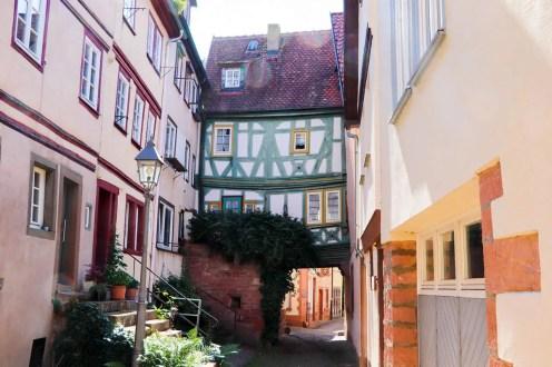 Ein Haus im Schwarzviertel Miltenberg