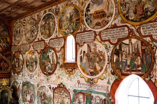 Martinskapelle Wandmalereien