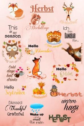Story Sticker Herbst
