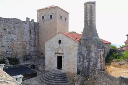 Kirchenmoschee / Archäologisches Museum Ulcinj